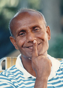Sri Chinmoy answering questions